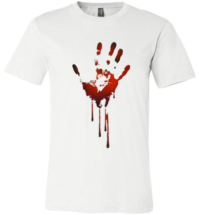 Creepy Bloody Hand Unisex & Youth T-Shirt