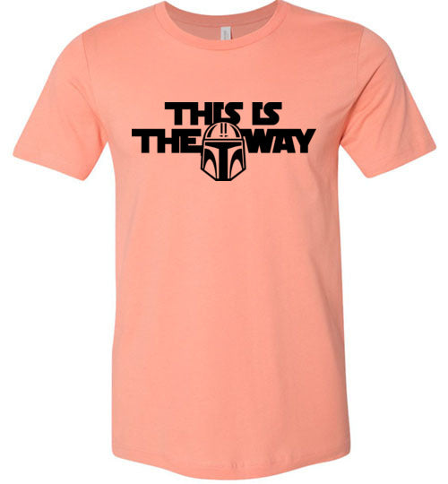 Mandalorian This Is The Way Adult & Youth T-Shirt