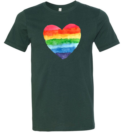 Rainbow Heart Unisex & Youth T-Shirt