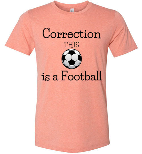 This is a Football Unisex & Youth T-Shirt