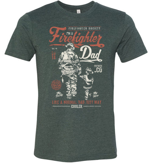Firefighter Dad Men's T-Shirt