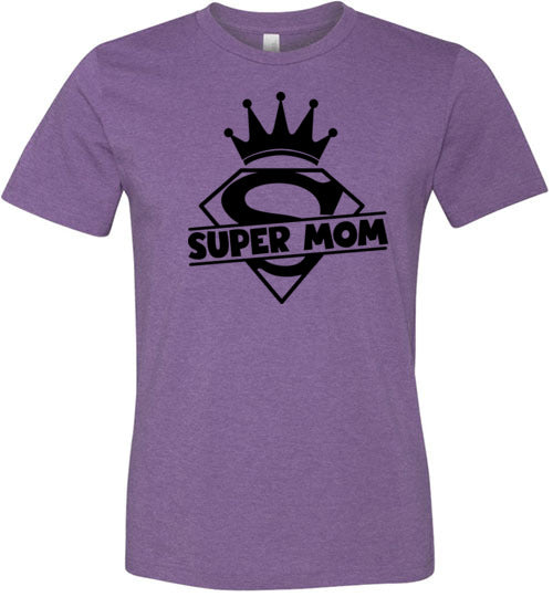 Super Mom Women's T-Shirt (Large & Youth Sizes)