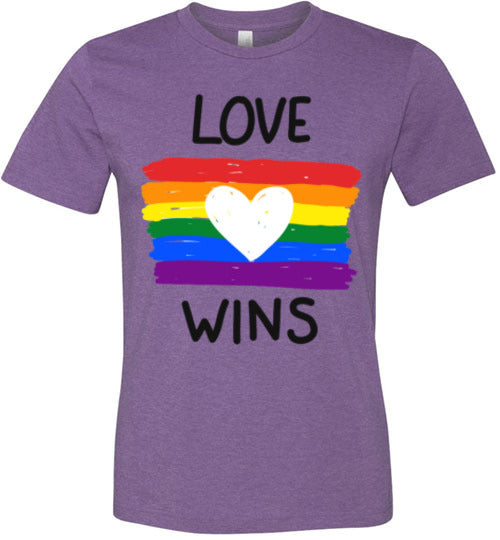 Love Wins Pride Adult & Youth T-Shirt