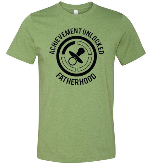 Acheivement Unlocked Fatherhood Men's  T-Shirt