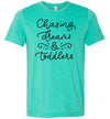 Chasing Dreams & Toddlers Women's T-Shirt