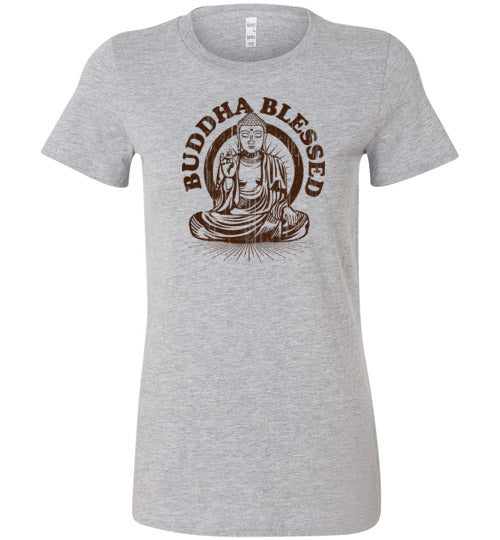 Buddha Blessed Women's Slim Fit T-Shirt