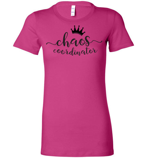 Chaos Coordinator Women's Slim Fit T-Shirt