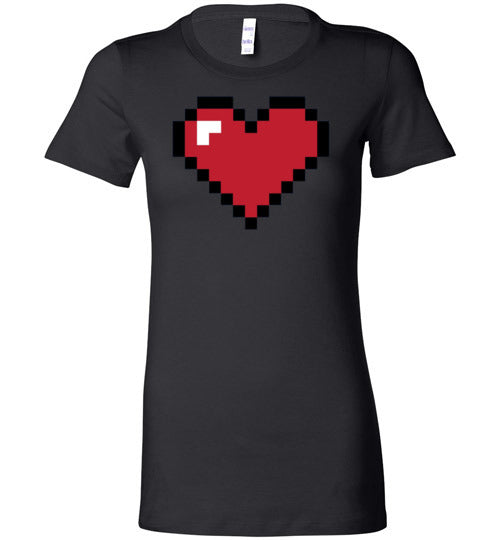 Pixelated Love Women's Matching T-Shirt