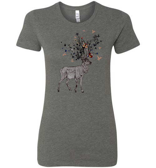 Enchanted Forest Women's Slim Fit T-Shirt