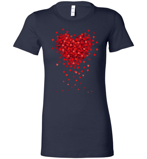 Falling For You Women's Slim Fit T-Shirt