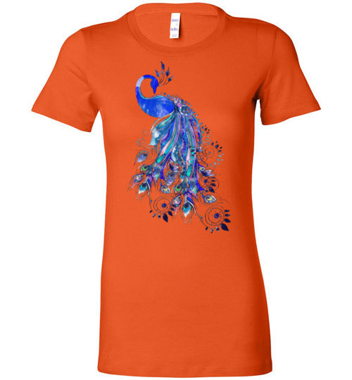 Boho Peacock Women's T-Shirt