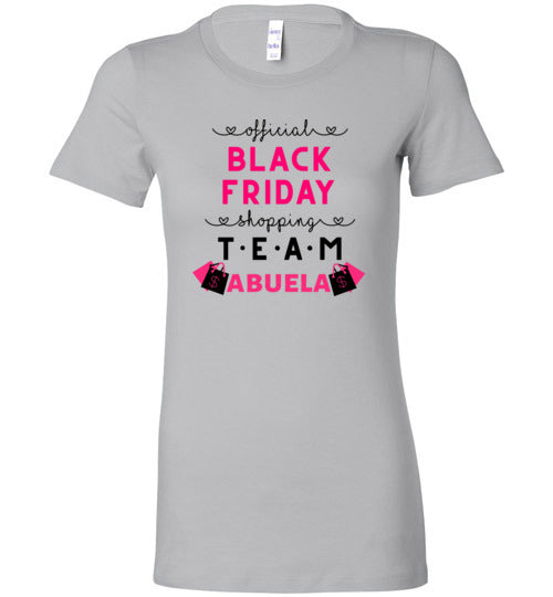 Official Shopping Team - Abuela Women's Slim Fit T-Shirt