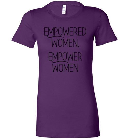Empowered Women, Empower Women Women's Slim Fit T-Shirt