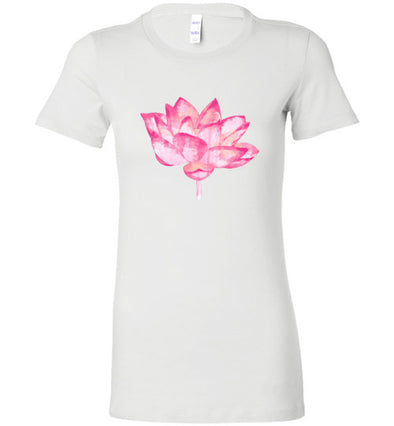 Pink Lotus Women's Slim Fit T-Shirts