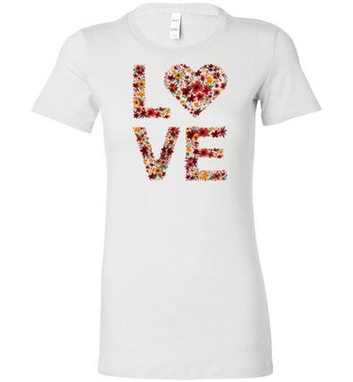 Love Autumn Women's Slim Fit T-Shirt