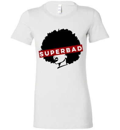Super Bad Women's Slim Fit T-Shirts