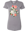 Flowers In Love Women's Slim Fit T-Shirt