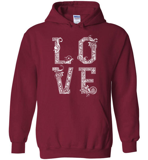 With Love Adult & Youth Hoodie