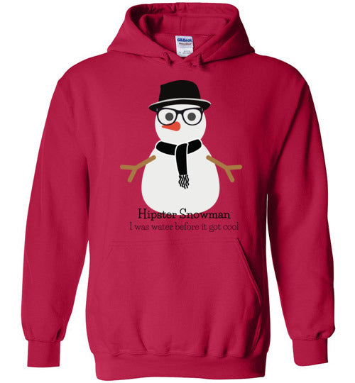 Hipster Snowman Adult & Youth T-Shirt