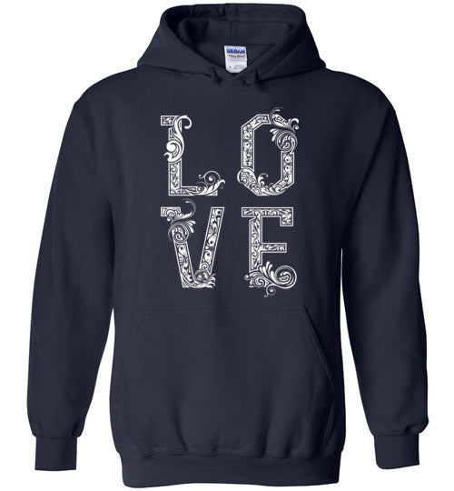 With Love Unisex & Youth Hoodie