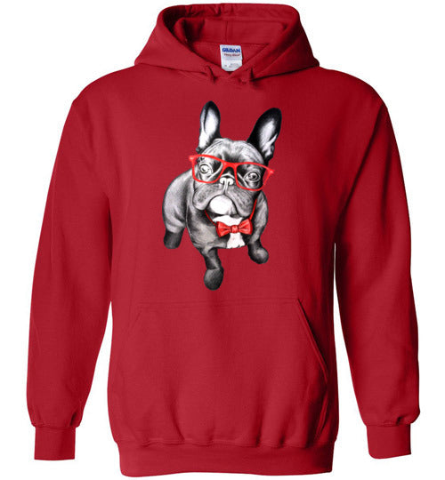 Bulldog Puppy Love Adult & Youth Hoodie