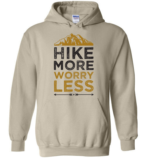 Hike More Worry Less Adult & Youth Hoodie