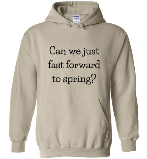 Can We Just Fast Forward to Spring Unisex & Youth Hoodie