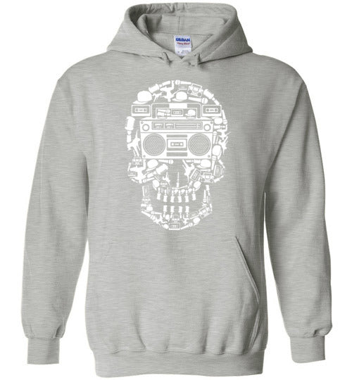 Skull Music Adult & Youth Hoodie