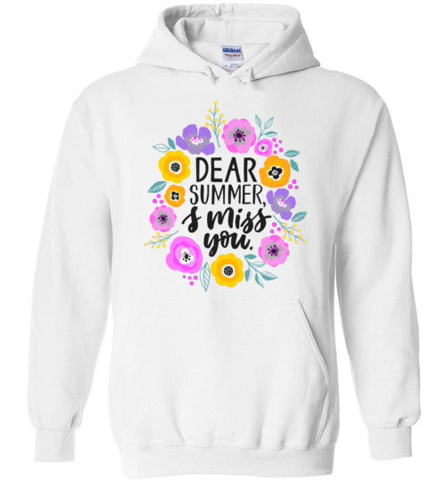 Dear Summer, I Miss You! Adult & Youth Hoodie