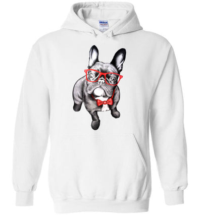 Bulldog Puppy Love Unisex & Youth Hoodie