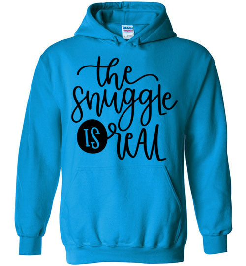 The Snuggle is Real Adult & Youth Hoodie