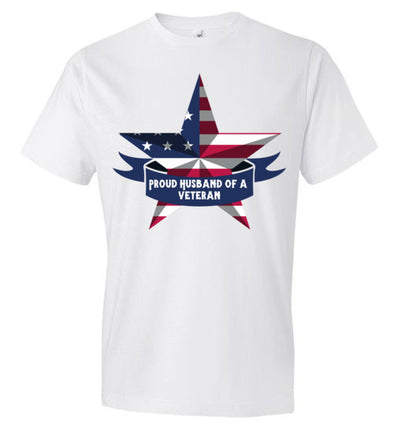 Proud Husband of a Veteran Men's T-Shirt