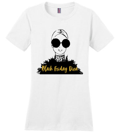 Black Friday Diva Women's T-Shirt