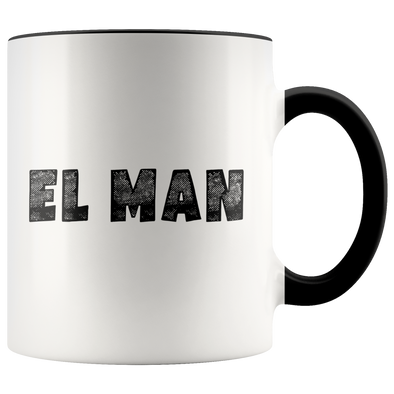 El Man 11oz Accent Mug