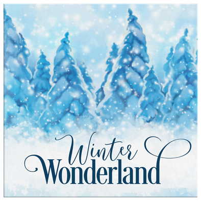 Winter Wonderland Canvas Wall Art