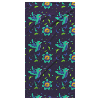 Beautiful Hummingbird Beach Towel