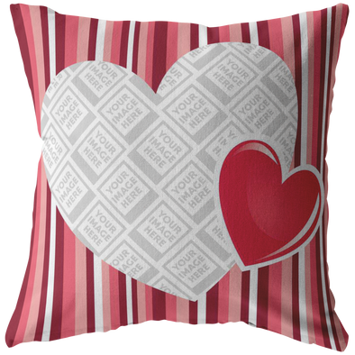 I Love You Throw Pillow Personlized by Con Gusto