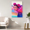 Rosie in the Clouds Canvas Wall Art