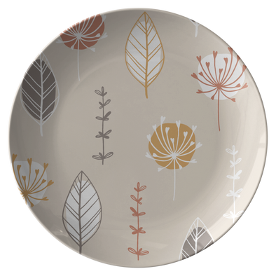 "Creamy Autumn 10"" Dinner Plate"