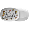 "Give Thanks 10"" x 14"" Serving Platter"