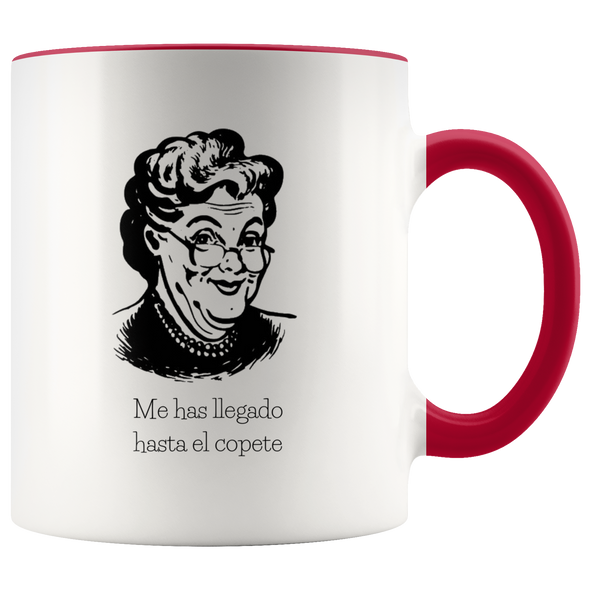 Hasta El Copete 11oz Accent Mug