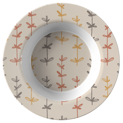"Creamy Autumn 8.5"" bowl"