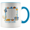 Love You a Latke Mug Personalized By Con Gusto