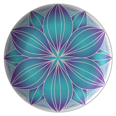 "The Flower of My Dreams 10"" Dinner Plate"