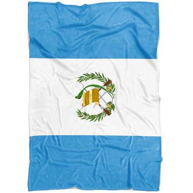 Dreaming with Guatemala Fleece Blanket
