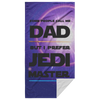 Jedi Master Dad Beach Towel