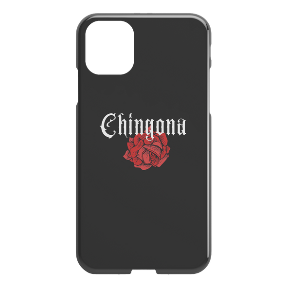 Chingona Black iPhone Case
