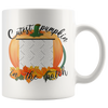 Cutest Pumpkin In The Patch 11oz White Mug - Personalized By Con Gusto