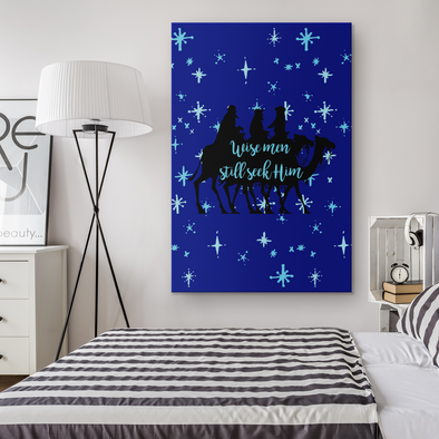 Wise Men Still Seek Him Canvas Wall Art