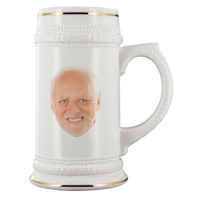 Meme Guy 22oz Beer Stein